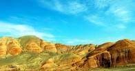 Renk cümbüşünün yaşandığı tepeler ziyaretçilerini bekliyor